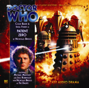 "Big Finish ""Patient Zero"" signed by India Fisher"